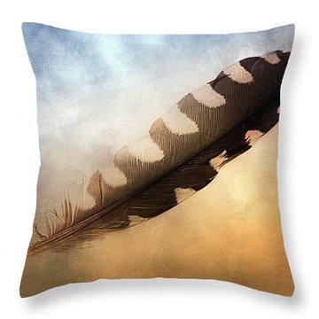 Spirit Feather Throw Pillow