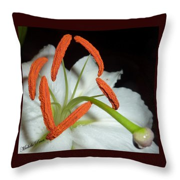 The Power 3 Throw Pillow