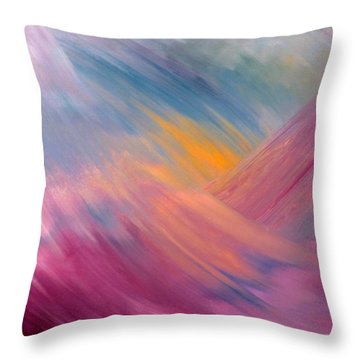 Spirit In Motion Throw Pillow
