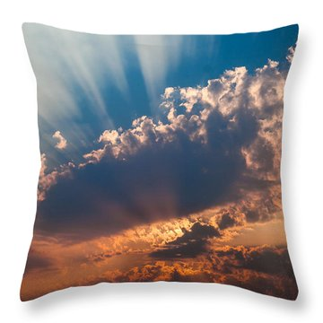 Throw Pillow featuring the photograph Spirit In The Sky by Jack Bell