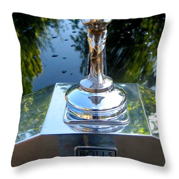 Spirit Of Ecstacy Throw Pillow