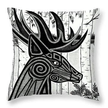 Spirit Of Gentle Strength Throw Pillow