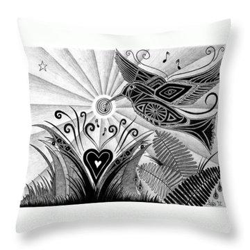 Spirit Of Joy  Throw Pillow