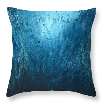 Spirit Of Life - Abstract 3 Throw Pillow by Kume Bryant