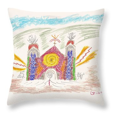 Spirit Of St Francis Throw Pillow