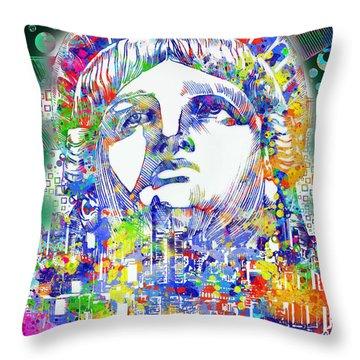 Spirit Of The City 4 Throw Pillow