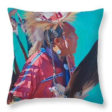 Spirit Of The Dance Throw Pillow