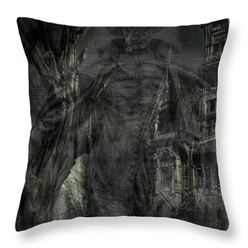 Spirit Of The Inquisitor Throw Pillow by Dan Stone