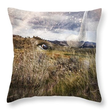 Spirit Of The Past Throw Pillow
