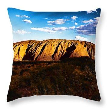 Spirit Of The Rock Throw Pillow by Douglas Barnard