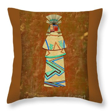 Spirit Of The Sand Throw Pillow
