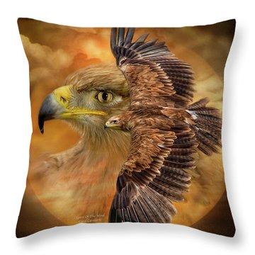 Spirit Of The Wind Throw Pillow