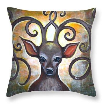 Spirit Of The Woods Throw Pillow