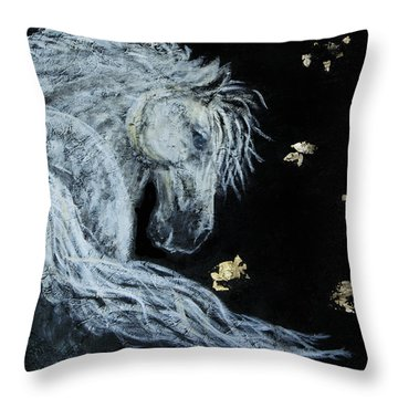 Spirit Of Wonder Throw Pillow by The Art With A Heart By Charlotte Phillips