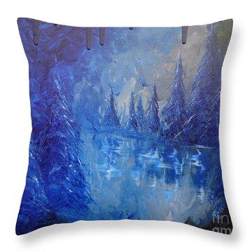 Spirit Pond Throw Pillow