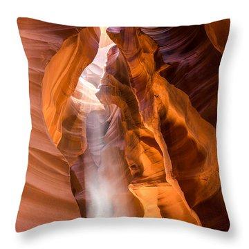 Spirit Walker Throw Pillow