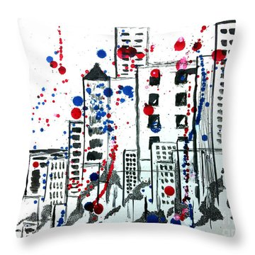 Spirit - Your Soul And Spirit Is In The City Throw Pillow