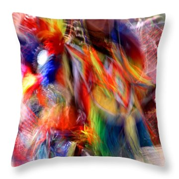 Spirits 3 Throw Pillow by Joe Kozlowski