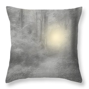 Spirits Of Avalon Throw Pillow