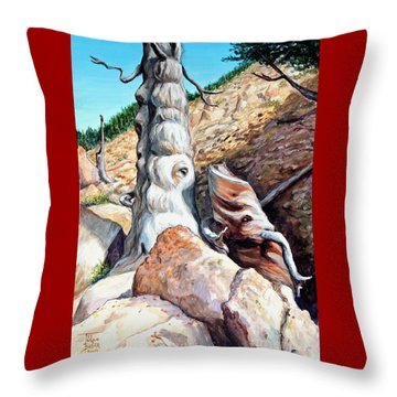 Spirits Of Limber Grove Throw Pillow