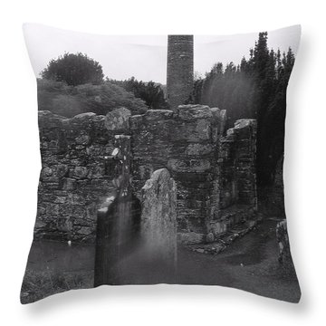 Spirits Rising Throw Pillow by Tim Townsend