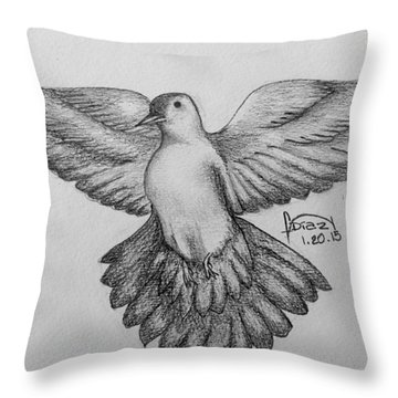 Spiritu Sancto Throw Pillow