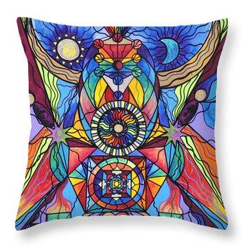 Spiritual Guide Throw Pillow