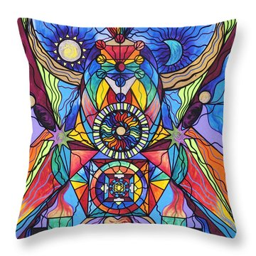 Spiritual Guide Throw Pillow