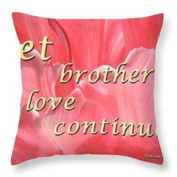 Spiritual Love Throw Pillow