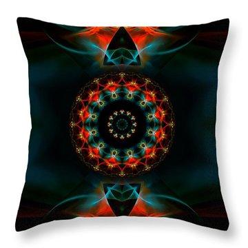 Spiritual Magic Throw Pillow
