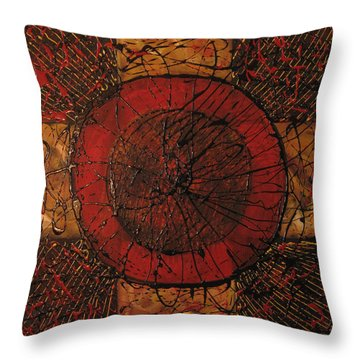 Spiritual Movement Throw Pillow