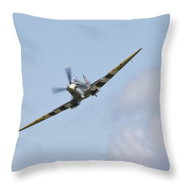 Spitfire Throw Pillow by Maj Seda