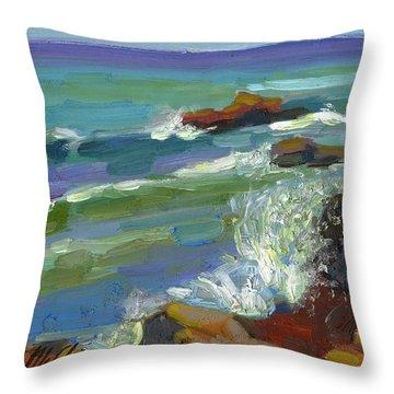 Splash 1 Throw Pillow