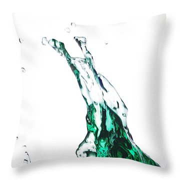 Splash 12 Throw Pillow