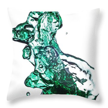 Splash 13 Throw Pillow