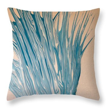 Splash 2 Throw Pillow