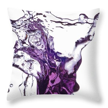 Splash 5 Throw Pillow