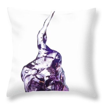 Splash 6 Throw Pillow