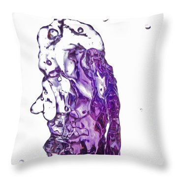 Splash 7 Throw Pillow