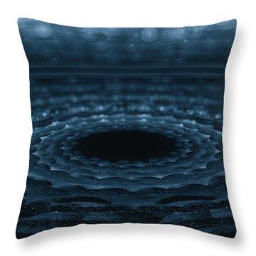 Splash Throw Pillow by GJ Blackman