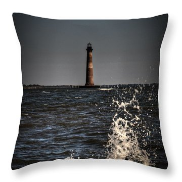 Splash Of Light Throw Pillow