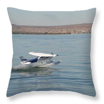Splashdown Throw Pillow