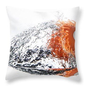 Splashie Throw Pillow