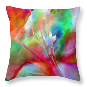 Splendor - Abstract Art Throw Pillow