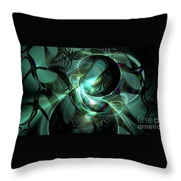 Splendor Throw Pillow by Peter R Nicholls