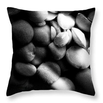 Split Peas Throw Pillow by Bob Orsillo