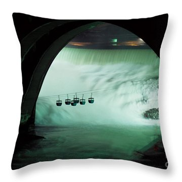 Spokane Falls Throw Pillow