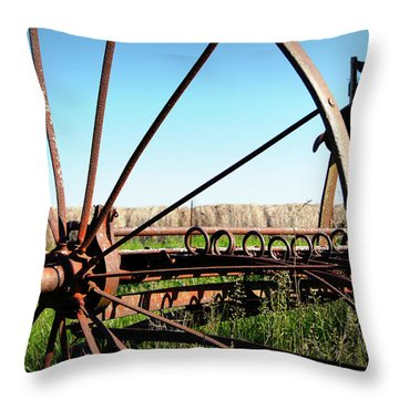 Spokes Throw Pillow