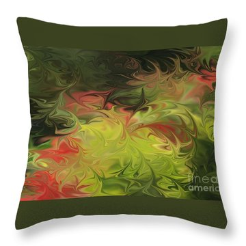 Jardin De Picasso  Throw Pillow
