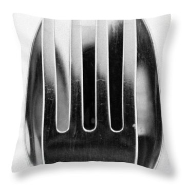 Spoon Me Throw Pillow by Wade Brooks